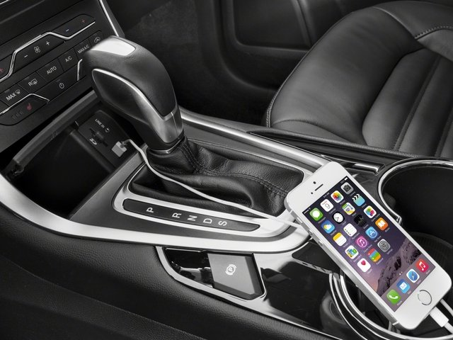 2018 Ford Edge Base Price Titanium FWD Pricing iPhone Interface