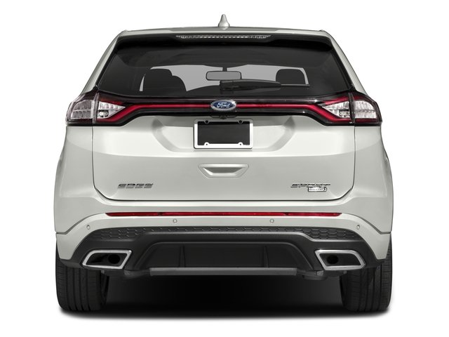 Ford Edge Base Price Sport Awd Pricing Rear View