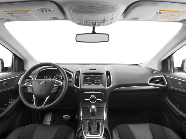 2018 Ford Edge Pictures Edge Sport AWD photos full dashboard