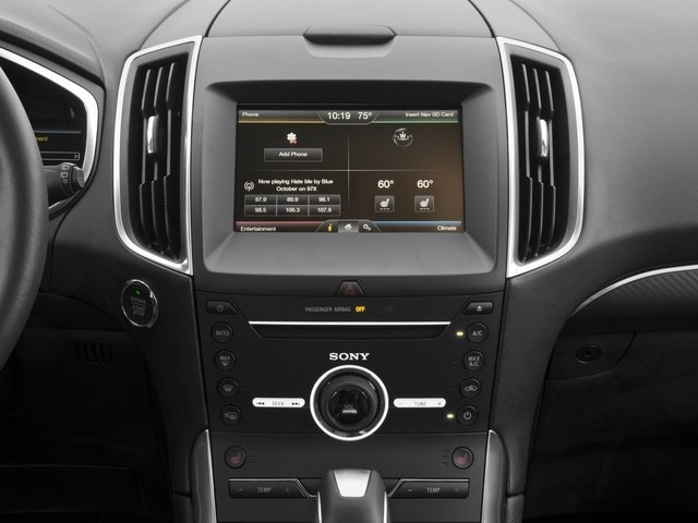 2018 Ford Edge Base Price Sport AWD Pricing stereo system