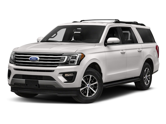 2018 Ford Expedition Max Pictures Expedition Max XLT 4x2 photos side front view