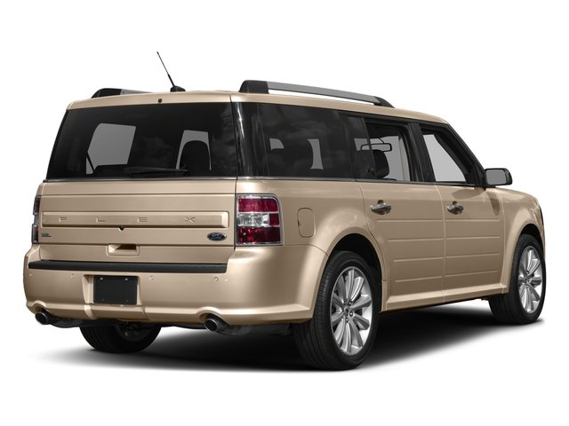 2018 Ford Flex Pictures Flex SE FWD photos side rear view