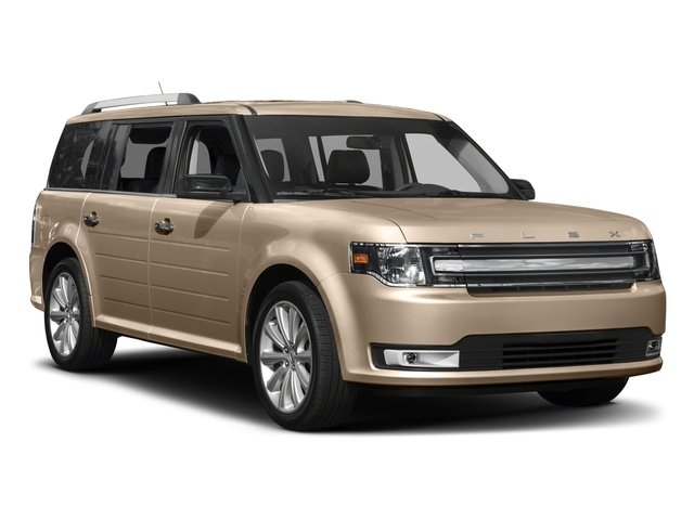 2018 Ford Flex Prices and Values Wagon 4D SEL 2WD side front view