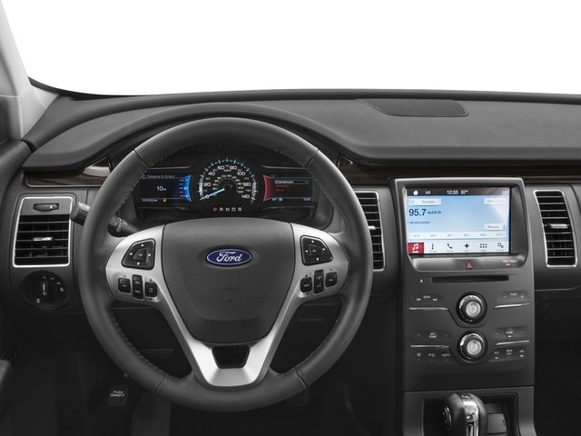 2018 Ford Flex Pictures Flex SE FWD photos driver's dashboard