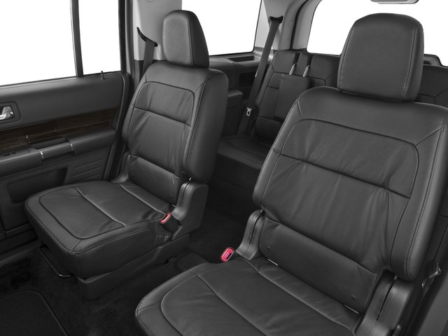 2018 Ford Flex Pictures Flex SE FWD photos backseat interior