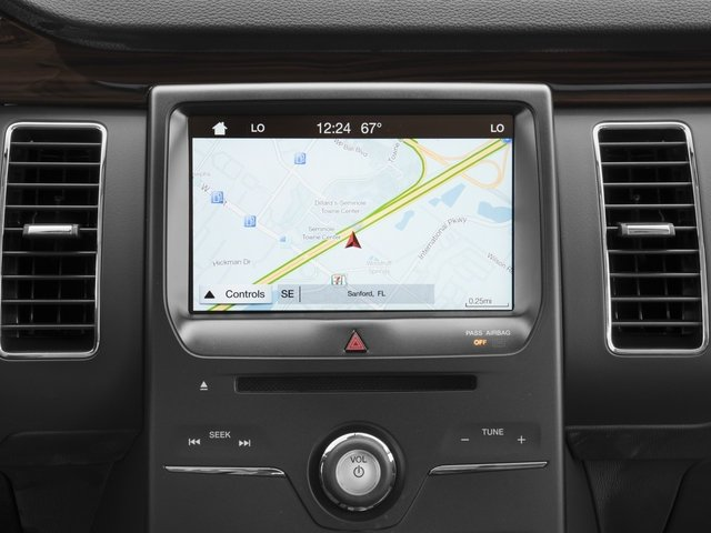 2018 Ford Flex Pictures Flex SE FWD photos navigation system