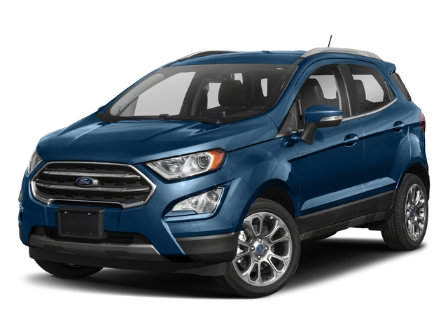 2018 Ford EcoSport Pictures EcoSport Titanium FWD photos side front view