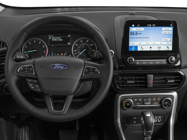 2018 Ford EcoSport Base Price S 4WD Pricing driver's dashboard