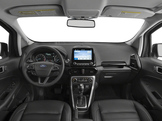 2018 Ford EcoSport Pictures EcoSport Titanium FWD photos full dashboard