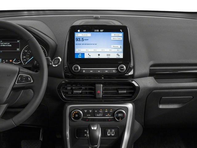 2018 Ford EcoSport Base Price S 4WD Pricing stereo system