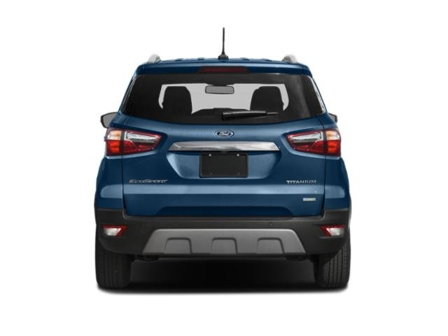 2018 Ford EcoSport Prices and Values Utility 4D SE AWD rear view
