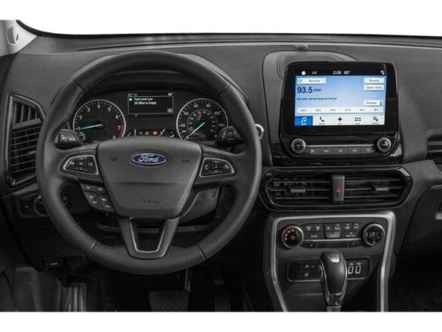 2018 Ford EcoSport Prices and Values Utility 4D SE AWD driver's dashboard