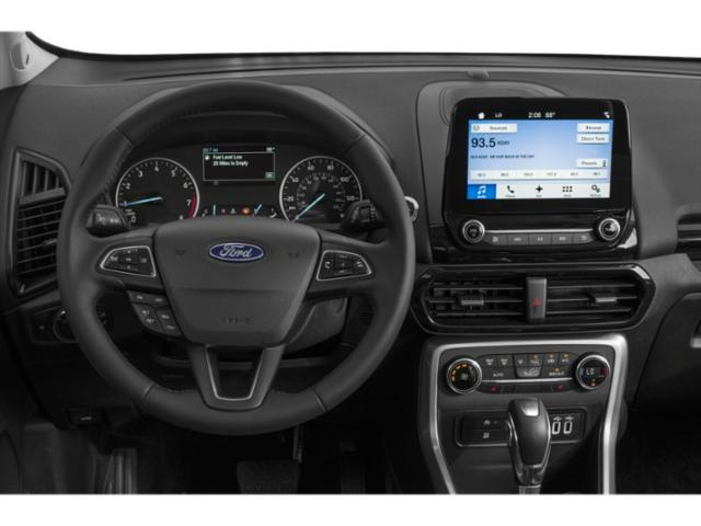 2018 Ford EcoSport Base Price S FWD Pricing driver's dashboard