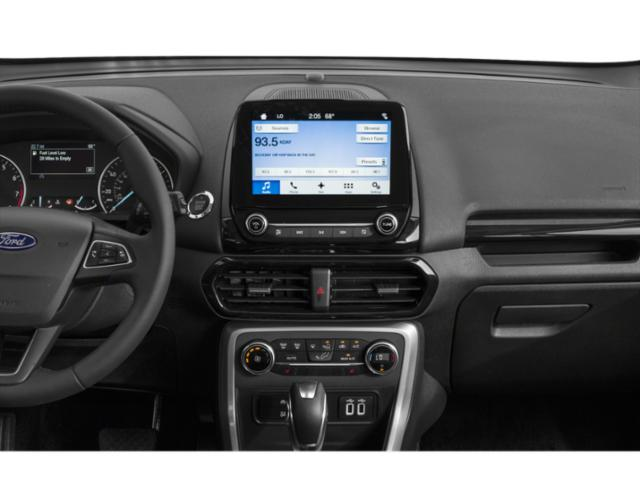 2018 Ford EcoSport Base Price S FWD Pricing stereo system