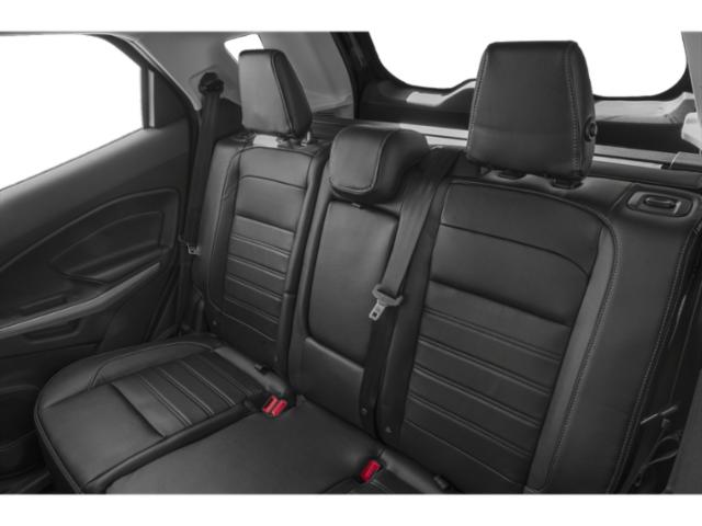 2018 Ford EcoSport Base Price S FWD Pricing backseat interior