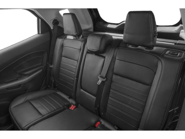 2018 Ford EcoSport Prices and Values Utility 4D SE AWD backseat interior