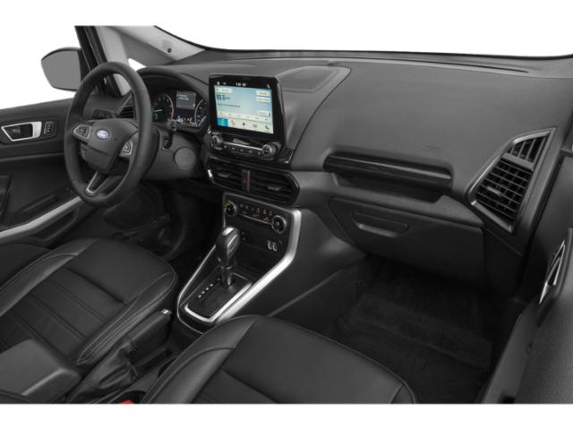 2018 Ford EcoSport Prices and Values Utility 4D SE AWD passenger's dashboard