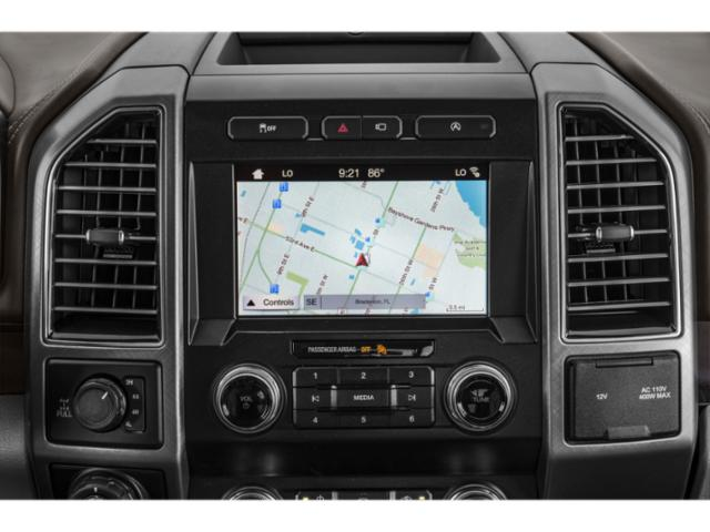 2018 Ford F-150 Prices and Values Crew Cab Lariat 4WD navigation system