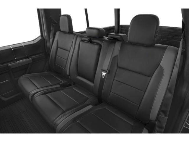 2018 Ford F-150 Prices and Values Crew Cab Lariat 4WD backseat interior