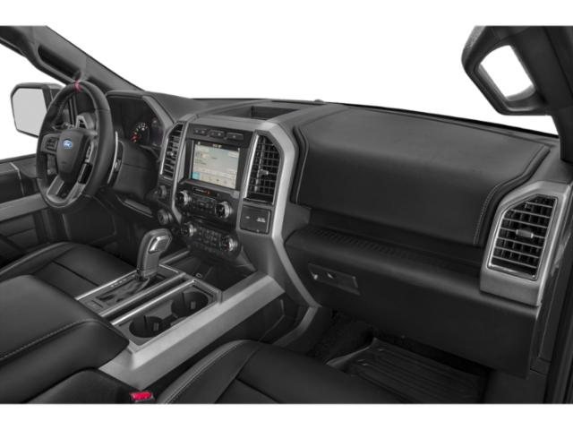 2018 Ford F-150 Prices and Values Crew Cab Lariat 4WD passenger's dashboard