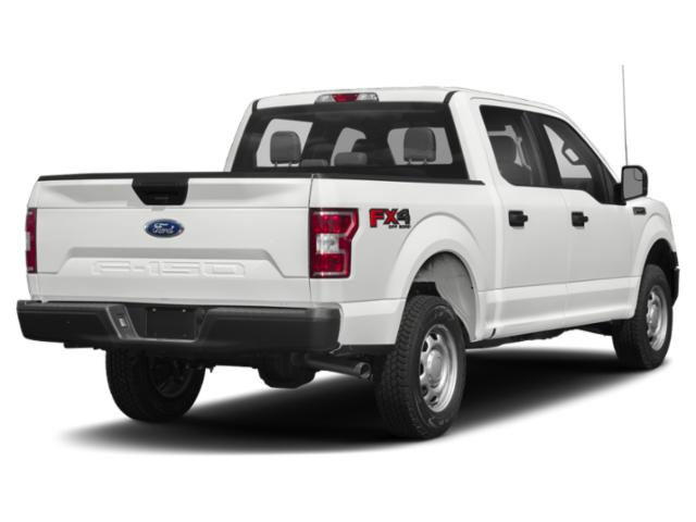 2018 Ford F-150 Prices and Values Crew Cab Lariat 4WD side rear view