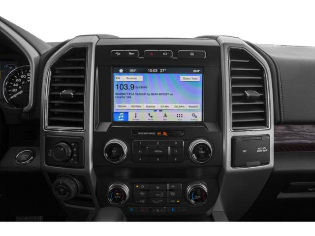 2018 Ford F-150 Prices and Values Crew Cab Lariat 4WD stereo system