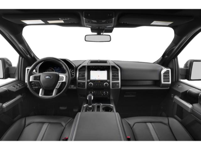 2018 Ford F-150 Prices and Values Crew Cab Lariat 4WD full dashboard