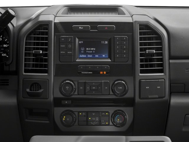 2018 Ford Super Duty F-250 SRW Base Price XL 4WD SuperCab 8' Box Pricing stereo system
