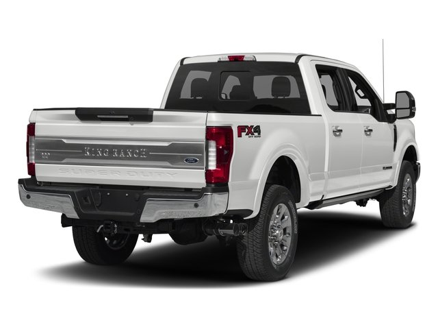 2018 Ford Super Duty F-350 SRW Base Price King Ranch 4WD Crew Cab 6.75' Box Pricing side rear view