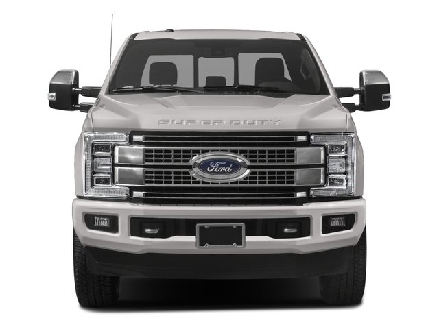 2018 Ford Super Duty F-250 SRW Prices and Values Crew Cab Platinum 4WD front view