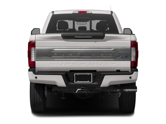 2018 Ford Super Duty F-250 SRW Prices and Values Crew Cab Platinum 4WD rear view