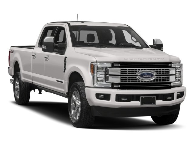 2018 Ford Super Duty F-250 SRW Prices and Values Crew Cab Platinum 4WD side front view