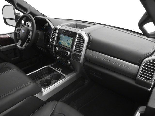 2018 Ford Super Duty F-250 SRW Prices and Values Crew Cab Platinum 4WD passenger's dashboard