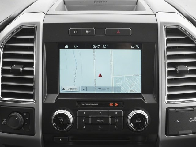 2018 Ford Super Duty F-250 SRW Prices and Values Crew Cab Platinum 4WD navigation system