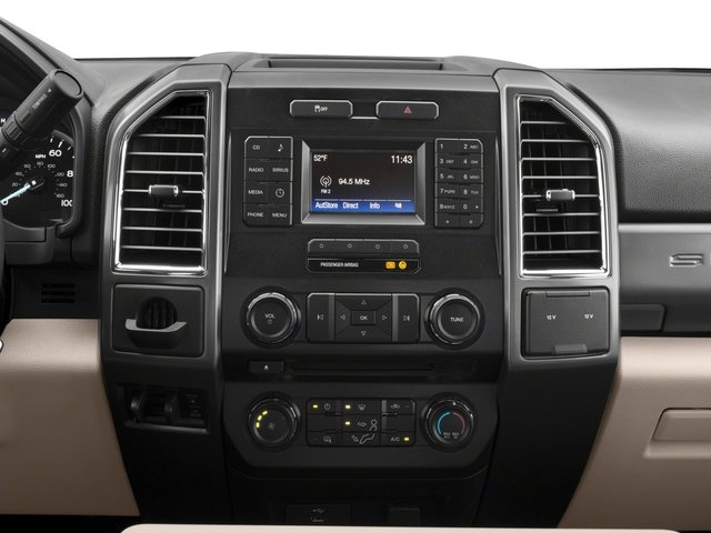 2018 Ford Super Duty F-250 SRW Base Price XLT 2WD SuperCab 6.75' Box Pricing stereo system