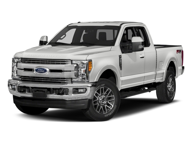 2018 Ford Super Duty F-250 SRW Base Price LARIAT 2WD SuperCab 8' Box Pricing side front view