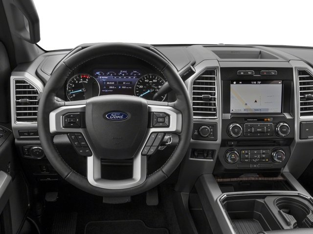2018 Ford Super Duty F-350 SRW Base Price LARIAT 2WD Crew Cab 6.75' Box Pricing driver's dashboard