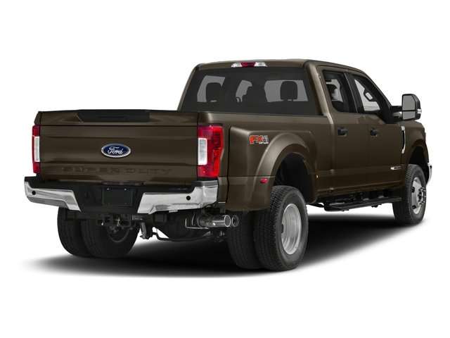 2018 Ford Super Duty F-350 DRW Prices and Values Crew Cab XLT 4WD side rear view