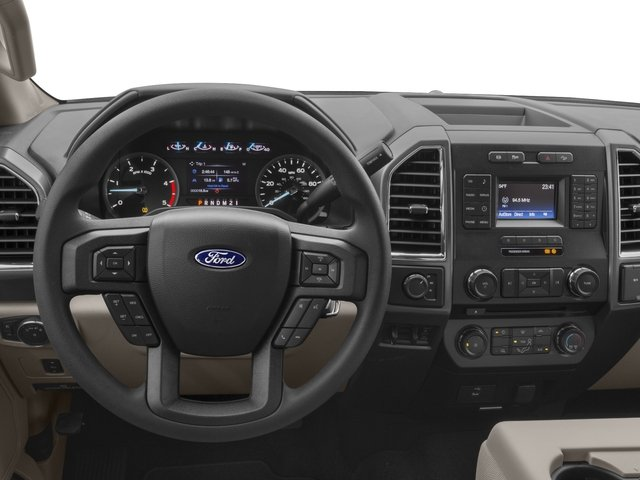 2018 Ford Super Duty F-350 DRW Prices and Values Crew Cab XLT 4WD driver's dashboard