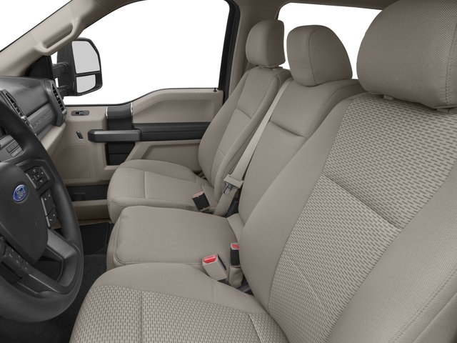 2018 Ford Super Duty F-350 DRW Prices and Values Crew Cab XLT 4WD front seat interior