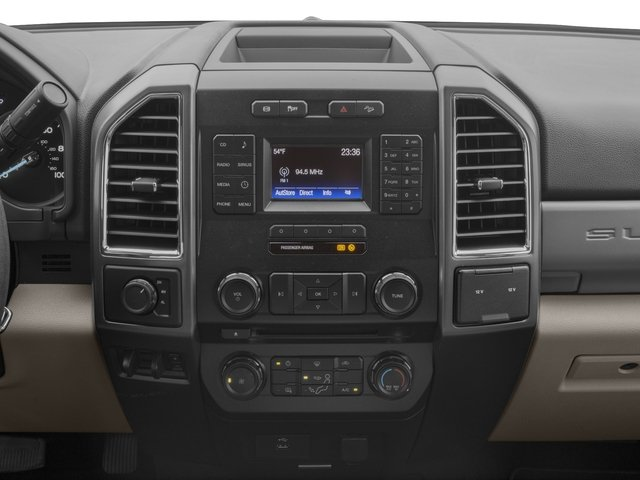 2018 Ford Super Duty F-350 DRW Prices and Values Crew Cab XLT 4WD stereo system