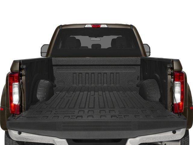 2018 Ford Super Duty F-350 DRW Prices and Values Crew Cab XLT 4WD open trunk