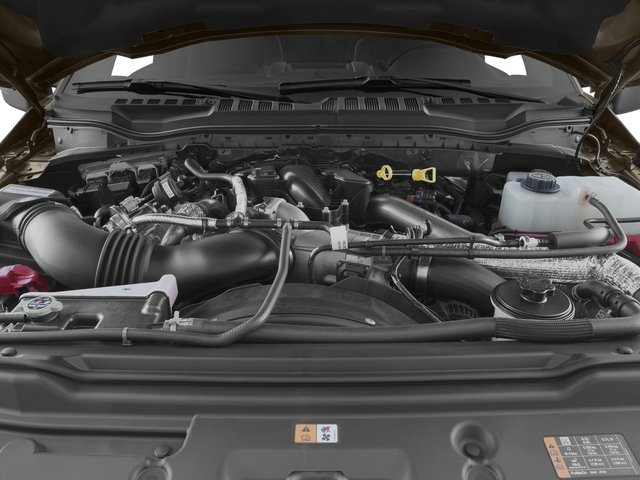 2018 Ford Super Duty F-350 DRW Prices and Values Crew Cab XLT 4WD engine