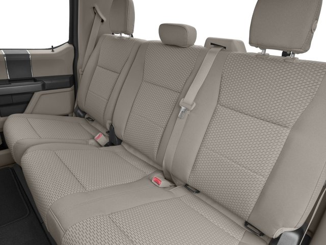 2018 Ford Super Duty F-350 DRW Prices and Values Crew Cab XLT 4WD backseat interior