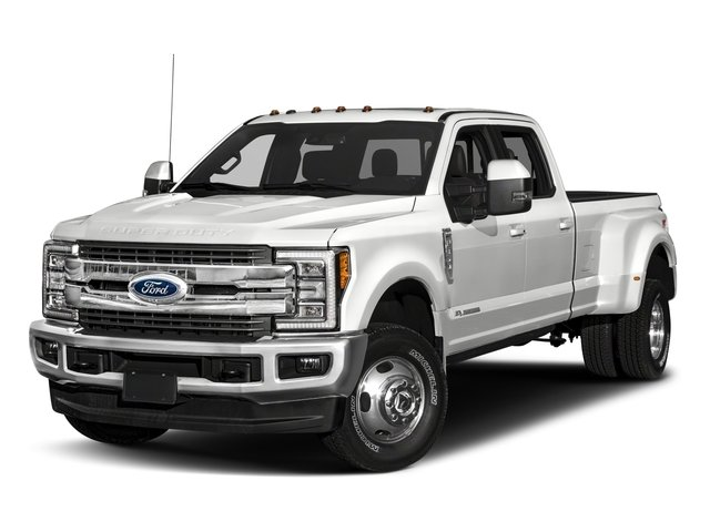 2018 Ford Super Duty F-350 DRW Pictures Super Duty F-350 DRW Crew Cab King Ranch 2WD photos side front view