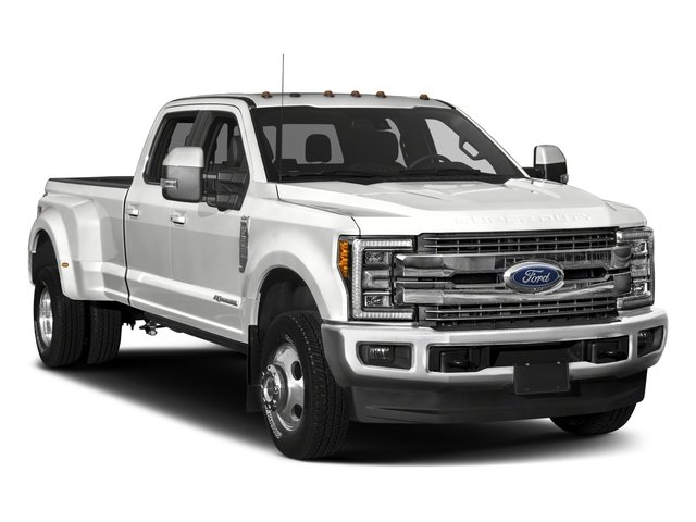 2018 Ford Super Duty F-350 DRW Base Price King Ranch 4WD Crew Cab 8' Box Pricing side front view