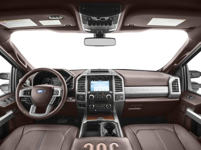 2018 Ford Super Duty F-350 DRW Base Price King Ranch 4WD Crew Cab 8' Box Pricing full dashboard