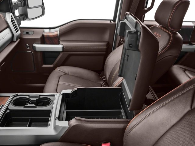 2018 Ford Super Duty F-350 DRW Base Price King Ranch 4WD Crew Cab 8' Box Pricing center storage console