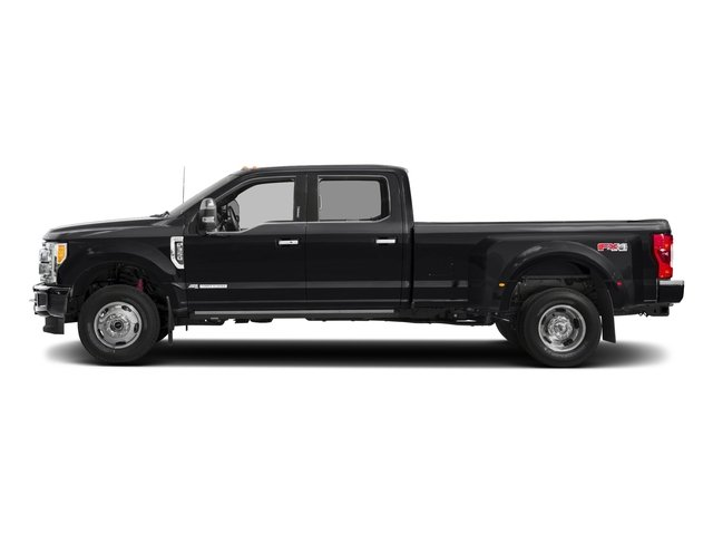 2018 Ford Super Duty F-350 DRW Pictures Super Duty F-350 DRW Platinum 4WD Crew Cab 8' Box photos side view
