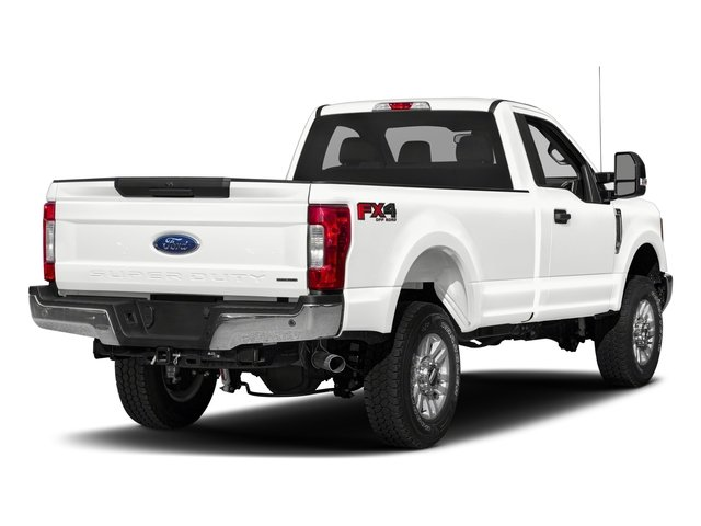 2018 Ford Super Duty F-250 SRW Pictures Super Duty F-250 SRW XLT 2WD Reg Cab 8' Box photos side rear view